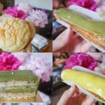 All the French Dessert in Green Tea