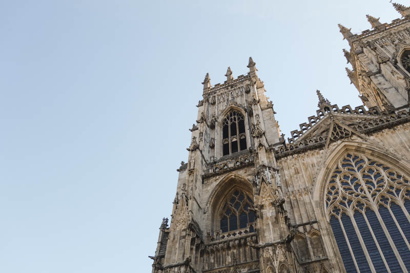 The Lights of York Minster - tower