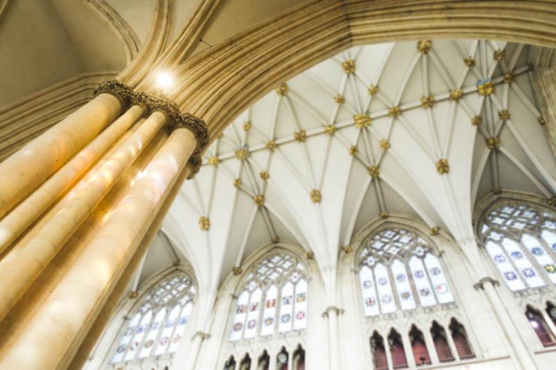 The Lights of York Minster - Pillar