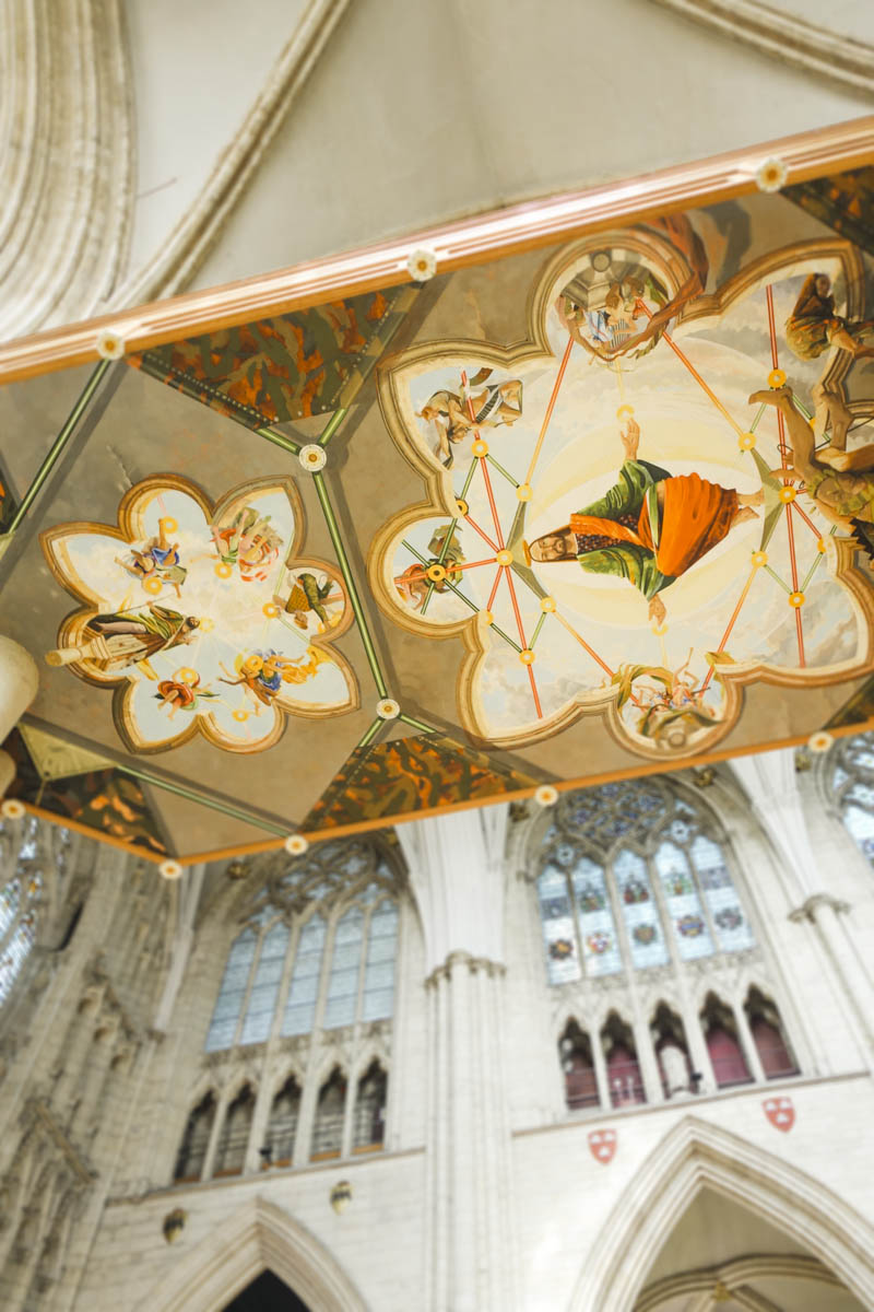 The Lights of York Minster - Ceiling paintings