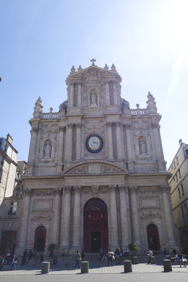 Le Marais - Saint Paul Church