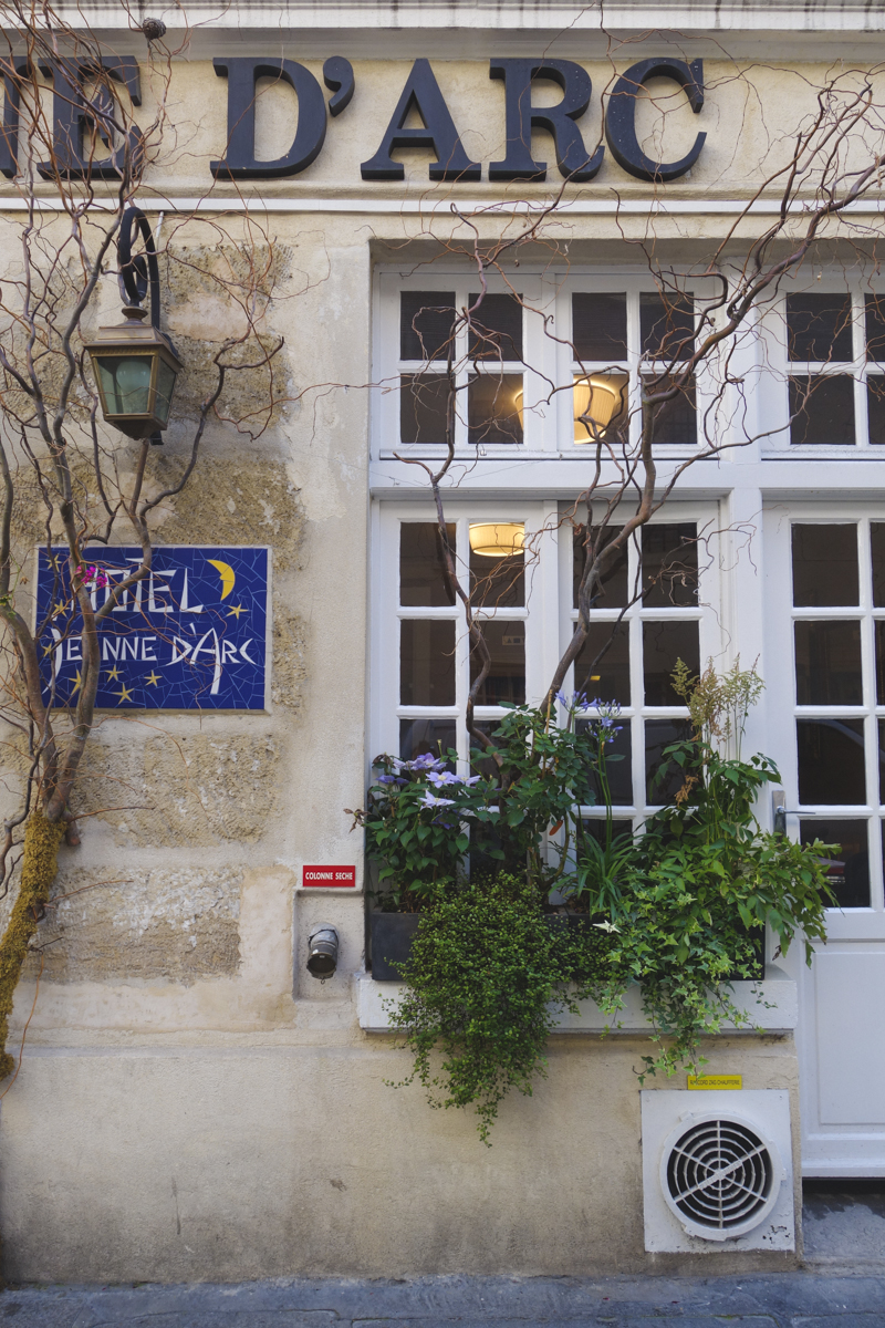 Le Marais - Hotel Jeanne d'Arc