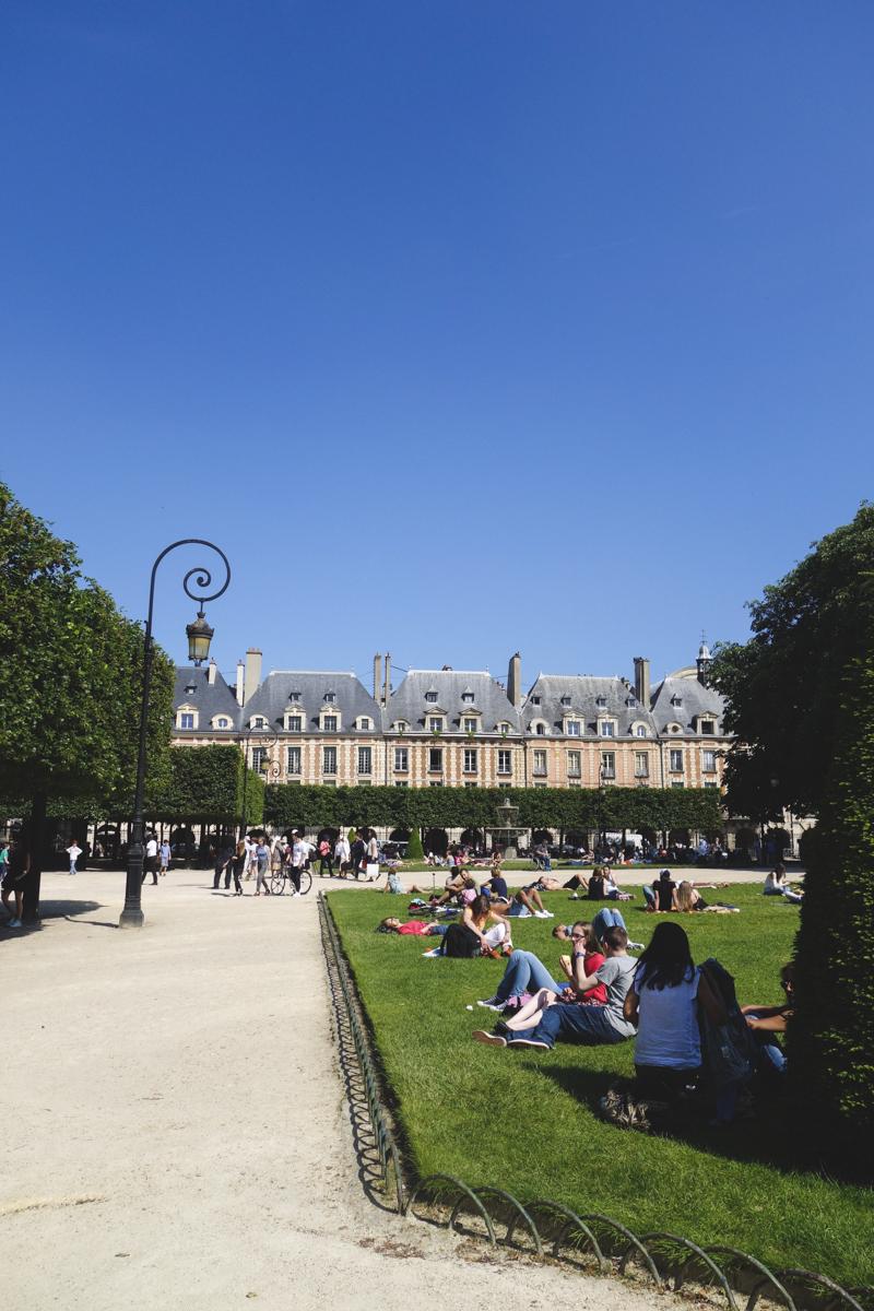 Le Marais - Place des Voges