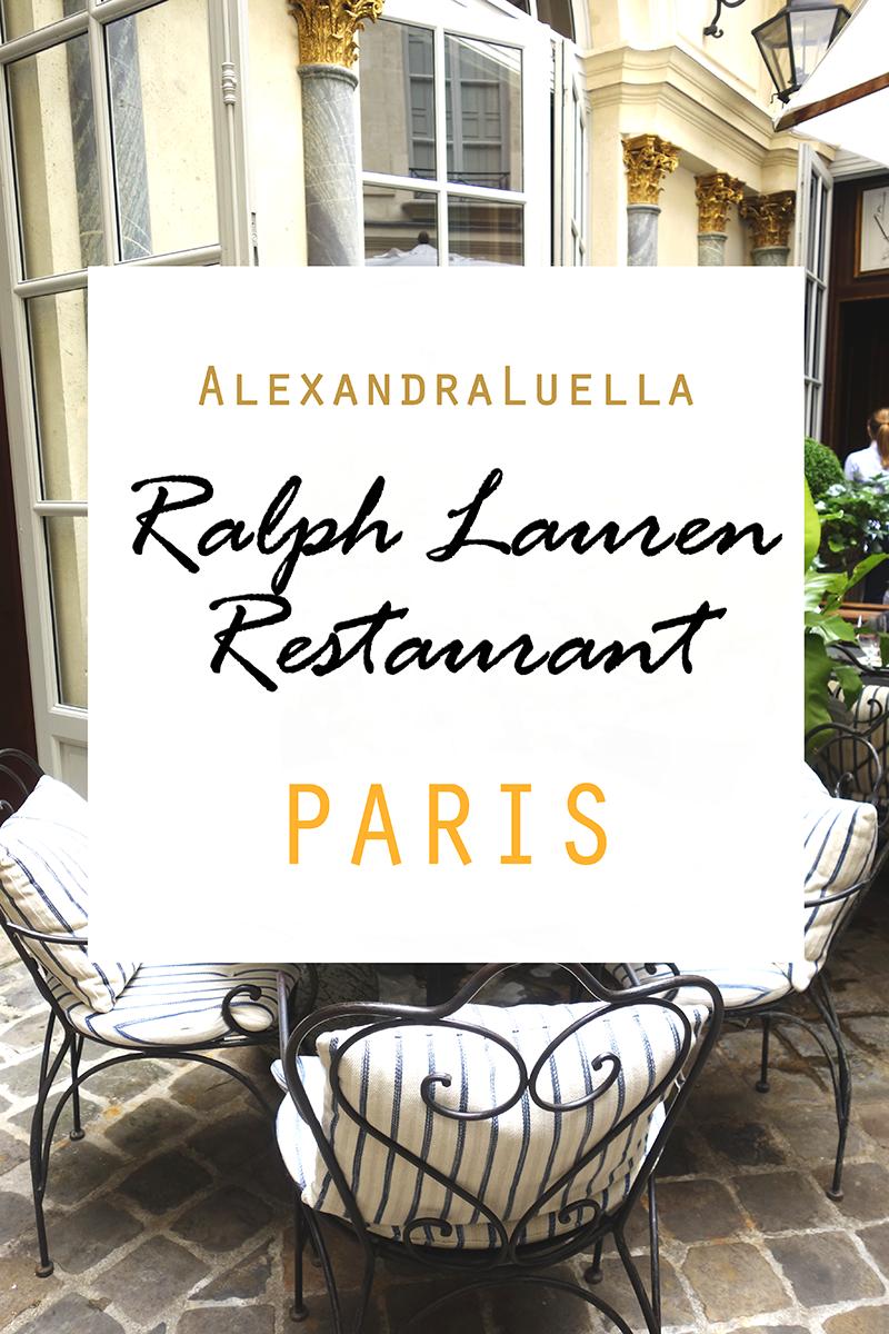 Ralph Lauren Restaurant  - AlexandraLuella
